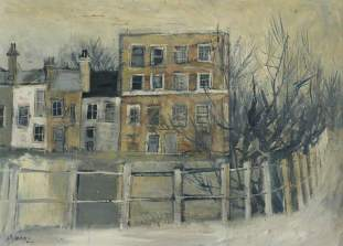 The Vale of Health, Hampstead, Hans Schwarz (1922–2003), 1950