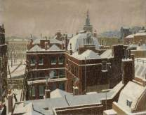A Winter View, Eric Hesketh Hubbard (1892–1957)