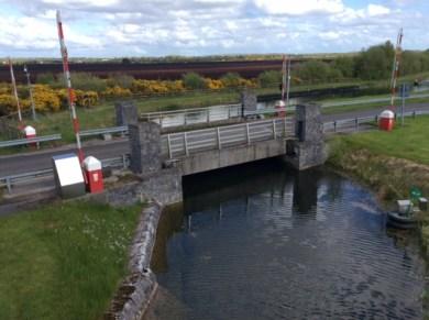 Lifting bridge, Killashee