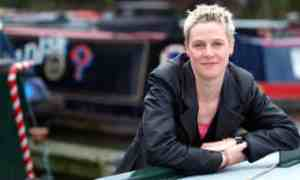 """The Guardian, 4 October 2012: """"The watery verse of a poet who lives on a narrowboat is to be inscribed on new lock gates in the hope it will inspire people to explore their local waterways."""""""
