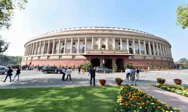 'The greatest set of government buildings in the world' … Parliament House, New Delhi, in 2019. Photograph: STR/EPA