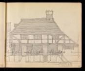 Pollies Hall, Groombridge, Kent 1909