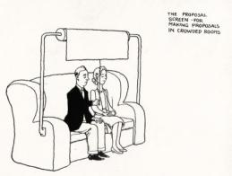 W HEATH ROBINSON AND CECIL HUNT: THE PROPOSAL SCREEN FOR MAKING PROPOSALS IN CROWDED ROOMS