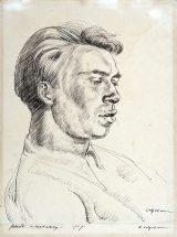 Robert Colquhoun: Portrait of Robert MacBryde, 1939   Scottish National Portrait Gallery, Edinburgh