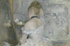 Woman at Her Toilette, Berthe Morisot. Oil on canvas, about 1875-80. Picture: The Art Institute of Chicago