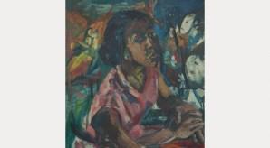 Miss Rhoda Samuels, 1958. Oil on canvas, 76 x 71 cm. University of Salford