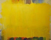Untitled, 1973, acrylic and oil on canvas, 80 x 100 in / 205 x 254 cm