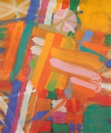 Mansfield, 1993, acrylic on canvas, 72 x 60 in / 183 x 152.4 cm