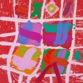 Untitled, 2014, acrylic on canvas, 24 x 24 in / 61 x 61 cm