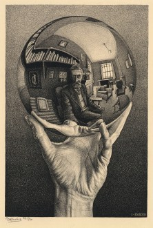 Hand with a Reflecting Sphere, 1935