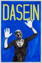 Untitled (Dasein), 2010 pencil, gouache on paper 85.4 x 57.5 cm (page size); 93 x 63 cm (framed size)