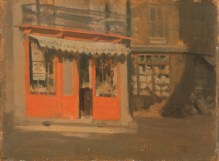 The Red Shop (October Sun), c.1888. Norwich Castle Museum and Art Gallery