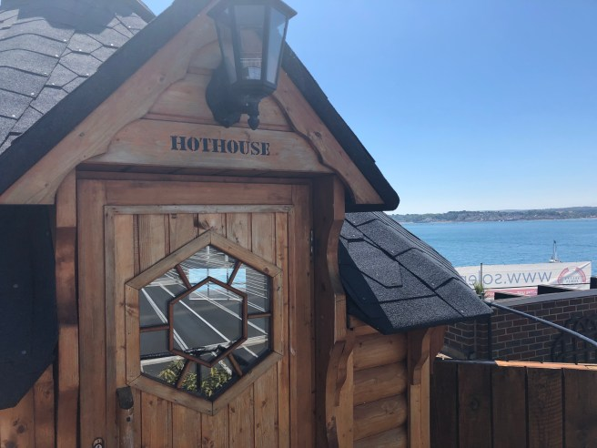 Sauna on No Man's Fort