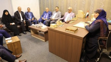 Photo of الغراوي تبحث افق التعاون بين نقابة العمال ولجنة العمل النيابية