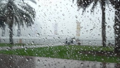 Photo of هطول أمطار غزيرة في بغداد