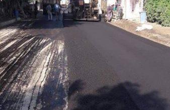 Photo of أمانة بغداد : إكساء شوارع الرئيسية في مدينة الصدر