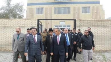 Photo of رئيس القضاء الأعلى يفتتح مبنى جديداً لمحكمة ذات السلاسل في بغداد