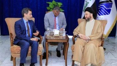 Photo of السيد عمار الحكيم يبحث مع هود التطورات السياسية والعلاقات الثنائية بين البلدين