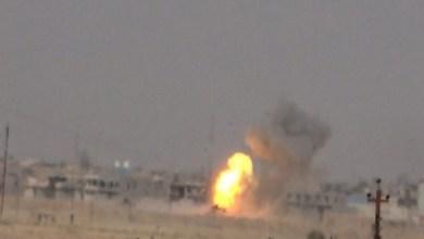 Photo of بالصور.. انفجار عبوة ناسفة في بيجي