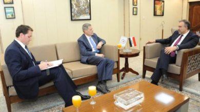 Photo of وزير الكهرباء العراقي يبحث مع السفير الامريكي سبل التعاون المشترك بين البلدين في مجال الطاقة