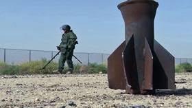 Photo of وزير الدفاع الروسي يشيد بما أنجزه مركز نزع الألغام الروسي في سوريا