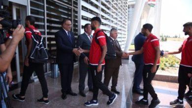 Photo of بعثة المنتخب البحريني تصل إلى مطار اربيل الدولي للمشاركة في بطولة آسياسيل لاتحاد غرب آسيا