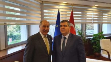 Photo of سفير جمهورية العراق في انقرة يلتقي وكيل وزارة الخارجية التركي