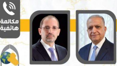 Photo of وزير الخارجية يبحث مع نظيره الاردني هاتفيا مستجدات الاوضاع بالمنطقة
