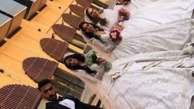 Photo of بالصور.. مواقع التواصل الاجتماعي تضج بخبر مفاده زواج شاب بصراوي بأربع نساء في يوم واحد