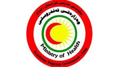 Photo of وزارة صحة اقليم كوردستان تنفي تسجيل اي اصابة بفايروس كورونا