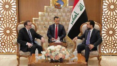Photo of رئيس البرلمان يبحث مع مسؤول أمريكي تشكيل حكومة قوية قادرة على تلبية مطالب العراقيين