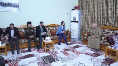 Photo of رئيس مجلس النواب يزور منزل رئيس محكمة استئناف الأنبار السابق