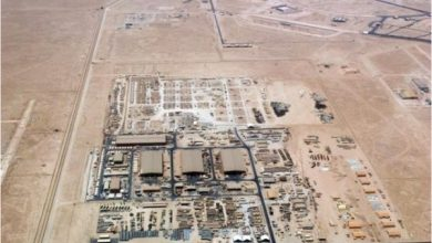 Photo of رغم اجراءات كورونا .. القوات الامريكية تواصل اعمال انشاء مطار لها في الأنبار