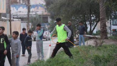 Photo of شباب الاصلاح ينظمون حملة تعفير وتعقيم في مدينة سامراء