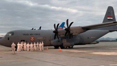 Photo of وزارة الدفاع : طائرة الشحن العسكرية  تصل الى الصين لتحميل معدات ومستلزمات لمكافحة وباء كورونا