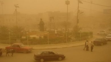 Photo of تقرير جوي: غداً عواصف ترابية وارتفاع للحرارة