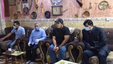 Photo of الحجامي يعزي عائلة المتوفي بفايروس كورونا في منطقة الدورة – ابو دشير