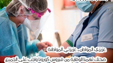Photo of الصحة تسجل 2466 حالة اصابة جديدة بفيروس كورونا اليوم