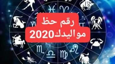 Photo of أرقام الحظ لعام 2020 كل شخص حسب تاريخ ميلاده