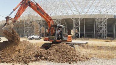 Photo of وزير الشباب والرياضة يتابع الاعمال المنفذة في ملعب كركوك ويثمن جهود العاملين في المشروع