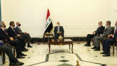 Photo of رئيس مجلس الوزراء السيد مصطفى الكاظمي يستقبل وفداً من شركة سيمينس الألمانية