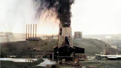 Photo of لحظة تدفق النفط لاول مرة في العراق
