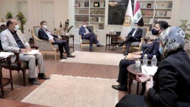 Photo of مستشار الأمن الوطني السيد قاسم الأعرجي يستقبل السفير الألماني في بغداد