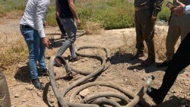 Photo of الامن الوطني في قضاء القرنة يعثر على انابيب لتهريب النفط