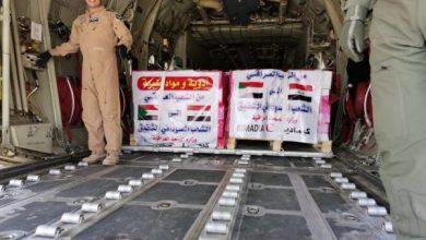 Photo of وصول طائرة عسكرية عراقية محملة بـ12 طن من المساعدات إلى السودان