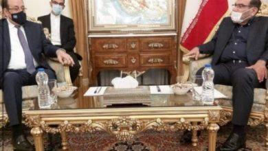 Photo of رئيس ائتلاف دولة القانون السيد نوري المالكي يلتقي امين المجلس الاعلى للامن القومي الايراني