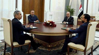 Photo of السلطات الثلاث والقضائية في إجتماع مشترك لبحث المستجدات الأمنية والسياسية الأخيرة في البلاد
