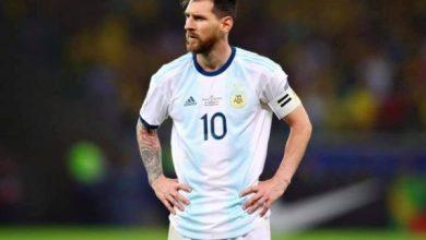 Photo of ميسي يستقل لاعبي الأرجنتين في طائرته الخاصة