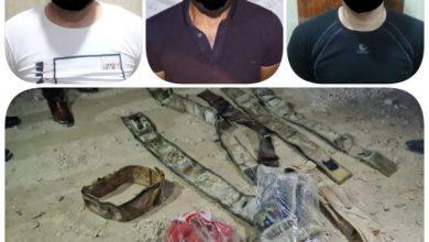 Photo of وكالة الاستخبارات : القبض على (٣) إرهابيين وضبط معمل لتصنيع الأحزمة الناسفة في نينوى