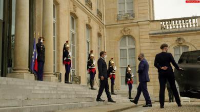 Photo of رئيس مجلس الوزراء السيد مصطفى الكاظمي يلتقي الرئيس الفرنسي في قصر الأليزيه بالعاصمة باريس